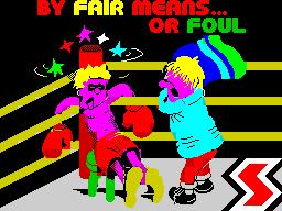 By Fair Means...or Foul