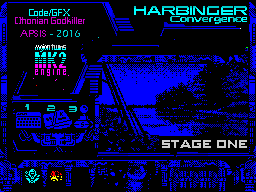HARBINGER: Convergence - stage one - menu