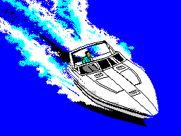 ZX Grand Theft Auto Vice City - Speedboat