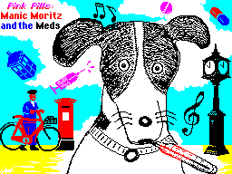 Pink Pills: Manic Moritz and the Meds