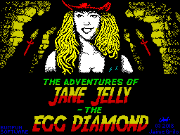 The Adventures of Jane Jelly: The Egg Diamond