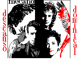 Mecano. Descanso dominical