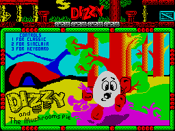 Dizzy and the Mushrooms Pie
