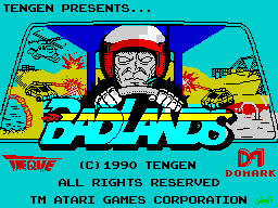 Badlands (title screen)