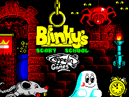 Blinky's Scary School