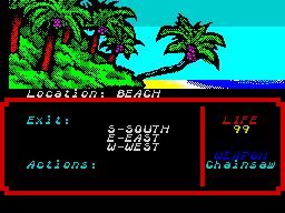 Zombi Terror 1 - Beach