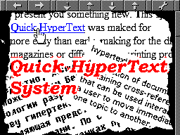 Quick Hyper Text System Viewer help gfx