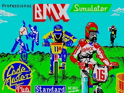 Professional BMX Simulator