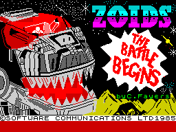 Zoids: The Battle Begins