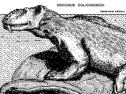 Dinosaur Doliosaurisk