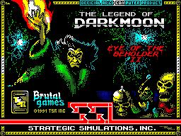 The Legend of Darkmoon