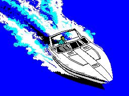 ZX Grand Theft Auto Vice City - Speedboat