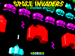 Space Invaders Emulator for ZX Spectrum