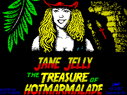 The Adventures of Jane Jelly: The Treasure of Hotmarmalade