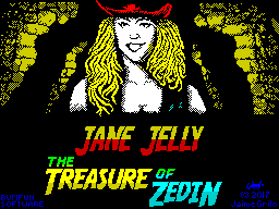 The Adventures of Jane Jelly: The Treasure of Zedin