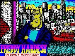 Freddy Hardest en Manhattan Sur