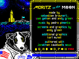 Moritz to the Moon (Menu)