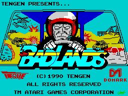 Badlands (title screen)