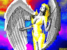 Awakening of angel