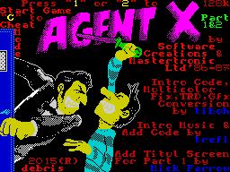 Agent X 1&2 Cracktro