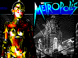 Metropolis-Fan Art ZX Screen