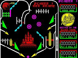 Advanced pinball simulator (in-game)