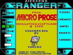 Airborne ranger (in-game 1)