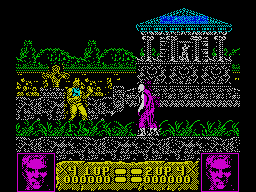Altered Beast in-game