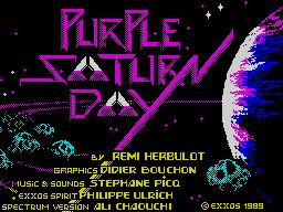Purple Saturn Day