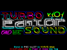 Turbo Sound Editor Tittle 1
