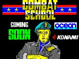 Athena 128 Combat School Ad