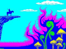 Knight in Mushroom Valley