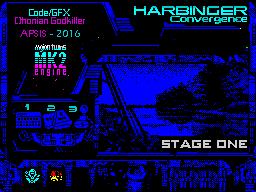 HARBINGER: Convergence - stage one - menu