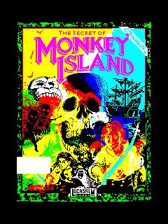 The Secret of Monkey Island (ZX Spectrum) (The Secret of Monkey Island (ZX Spectrum))