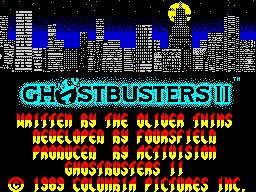 GhostbustersII