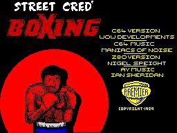 StreetCredBoxing