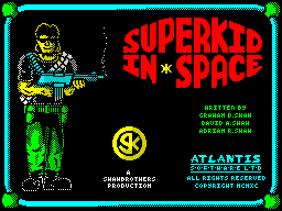 SuperkidInSpace