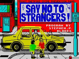 NeverGoWithStrangers