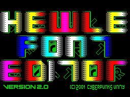 Hewle Font Editor