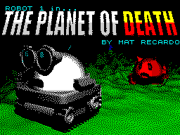 Robot 1 in... The Planet of Death