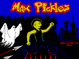 Max Pickles Part 1: The Haunted Castle