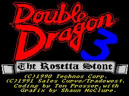 DoubleDragonIII-TheRosettaStone
